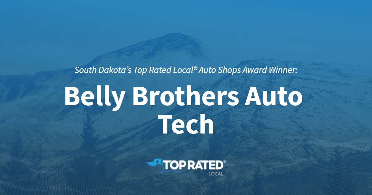 South Dakota's Top Rated Local® Auto Shops Award Winner: Belly Brothers Auto Tech