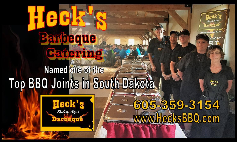 South Dakota's Top Rated Local® Catering Companies Award Winner: Heck's Dakota Style BBQ