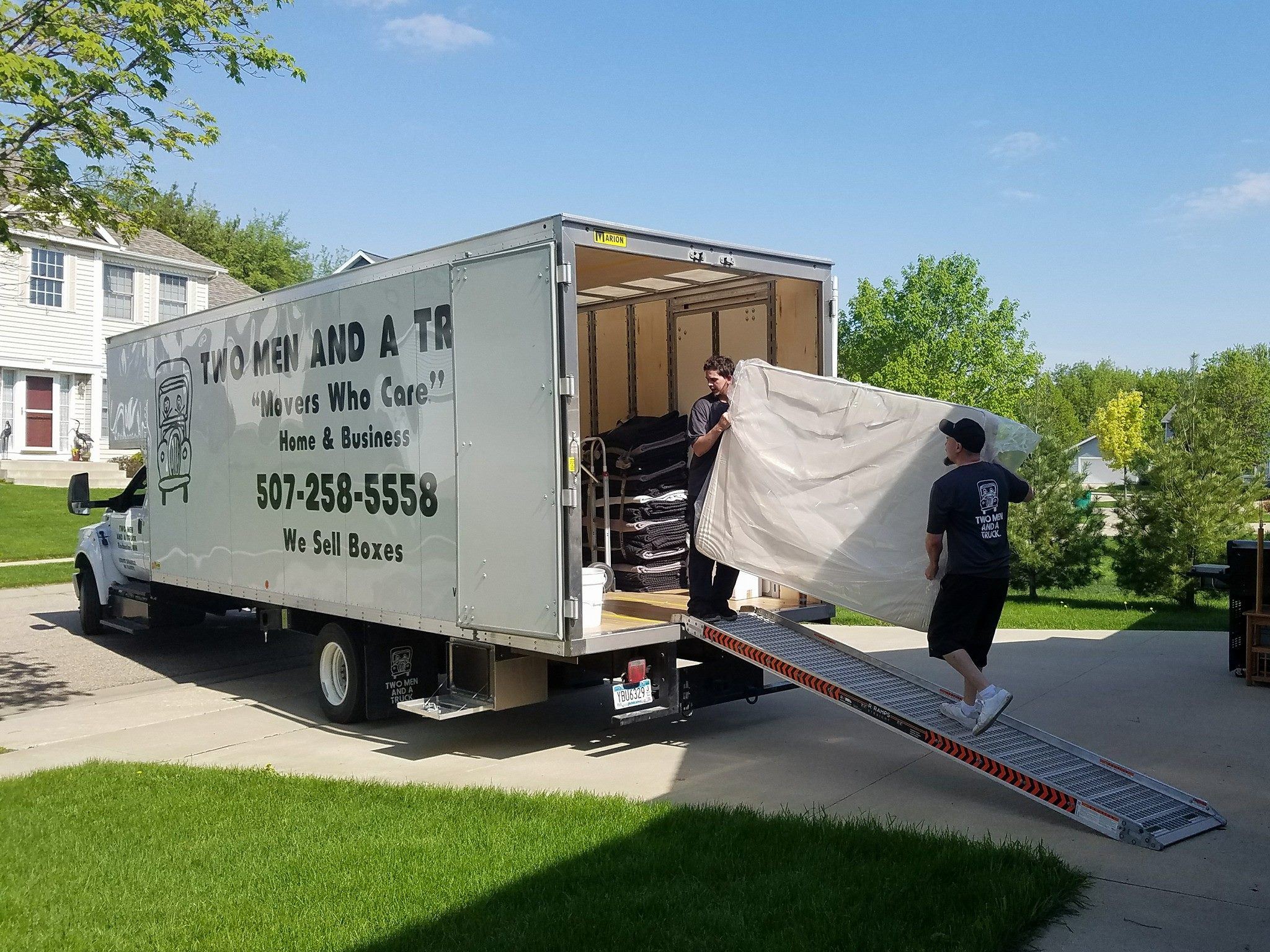Michigan's Top Rated Local® Moving Service Companies Award Winner: Two Men and a Truck of Rochester Hills