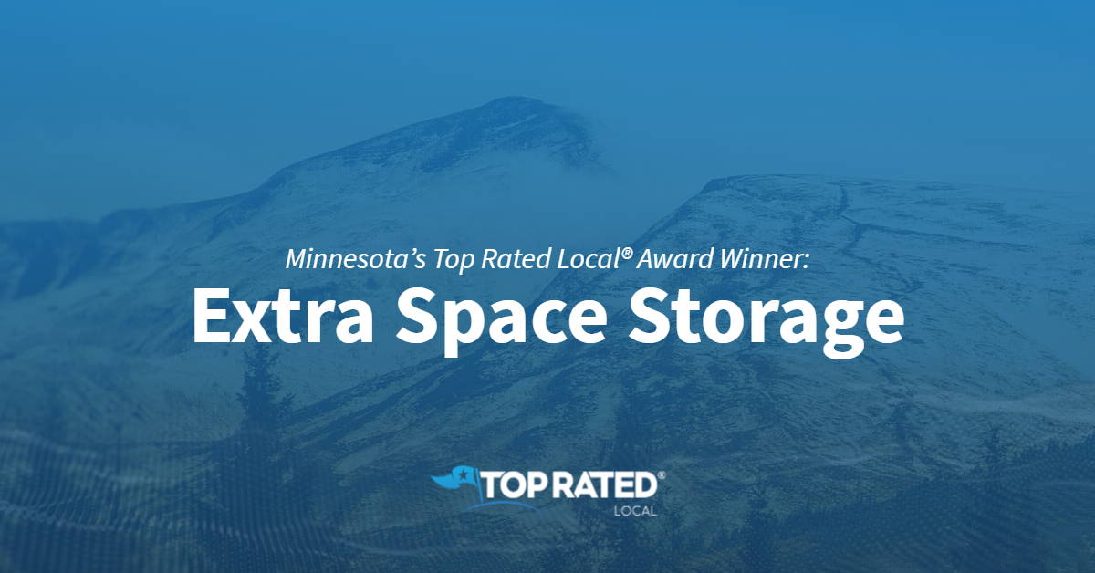 Minnesota's Top Rated Local® Award Winner: Extra Space Storage