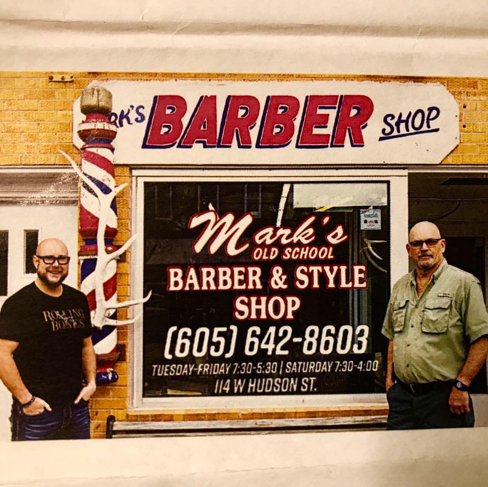 South Dakota's Top Rated Local® Barber Shops Award Winner: Mark's Old School Barber Shop