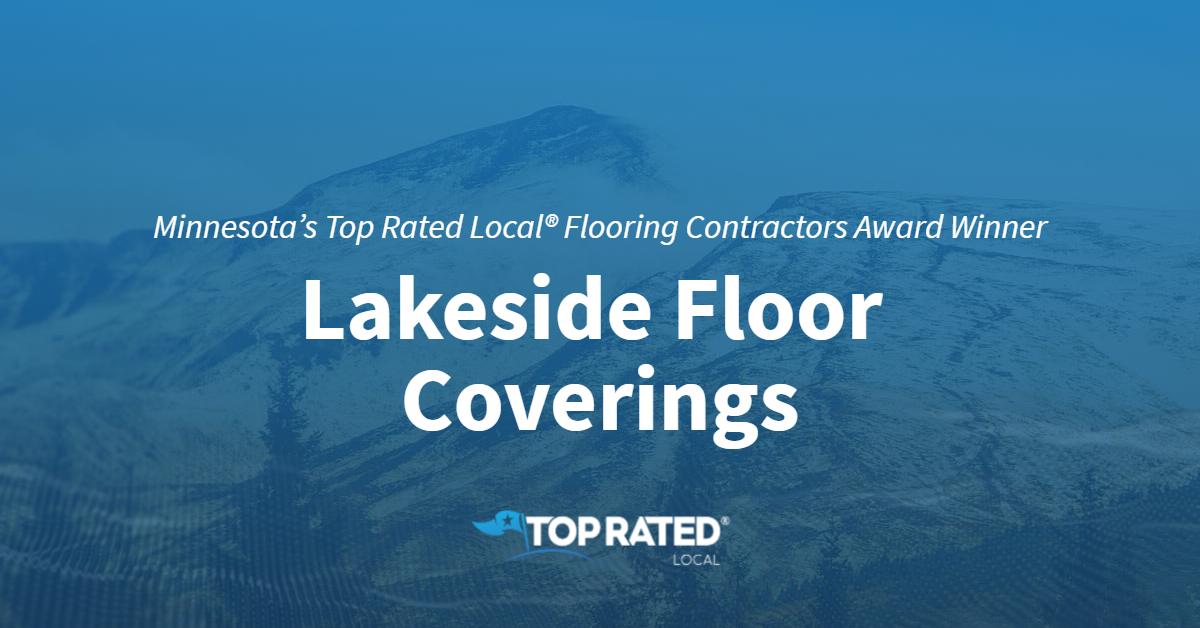 Minnesota's Top Rated Local® Flooring Contractors Award Winner: Lakeside Floor Coverings