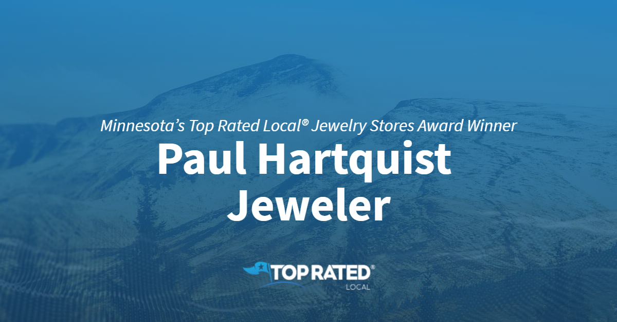 Minnesota's Top Rated Local® Jewelry Stores Award Winner: Paul Hartquist Jeweler