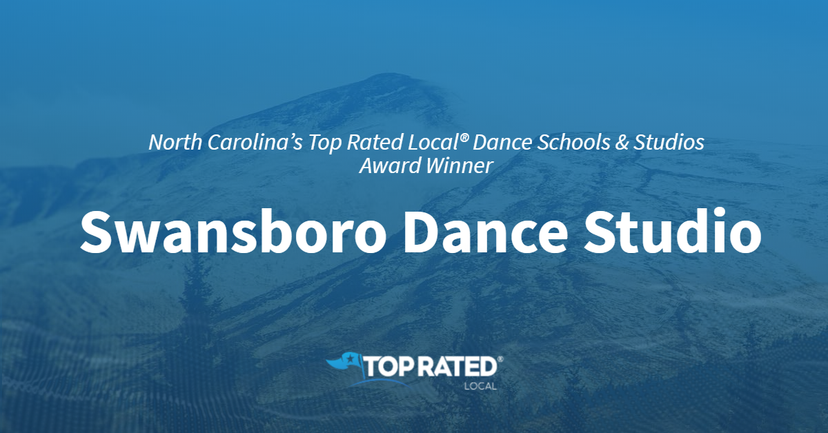 North Carolina's Top Rated Local® Dance Schools & Studios Award Winner: Swansboro Dance Studio