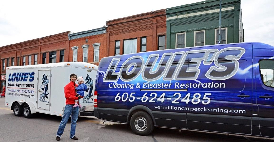 South Dakota's Top Rated Local® Restoration Companies Award Winner: Louie's Cleaning & Disaster Restoration