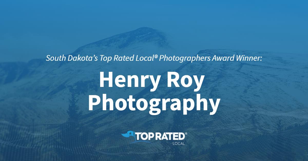 South Dakota's Top Rated Local® Photographers Award Winner: Henry Roy Photography