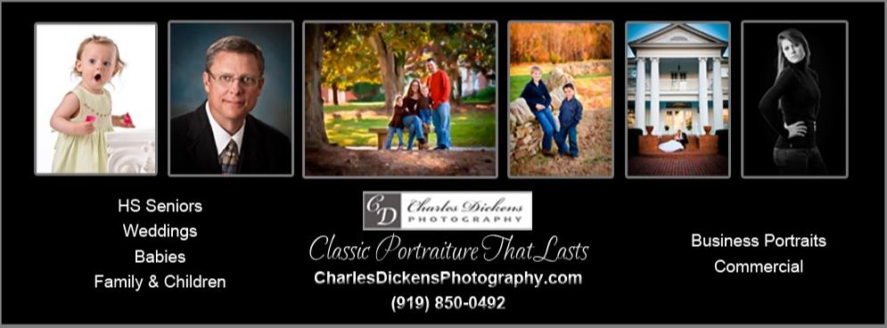 North Carolina's Top Rated Local® Photographers Award Winner: Charles Dickens Photography