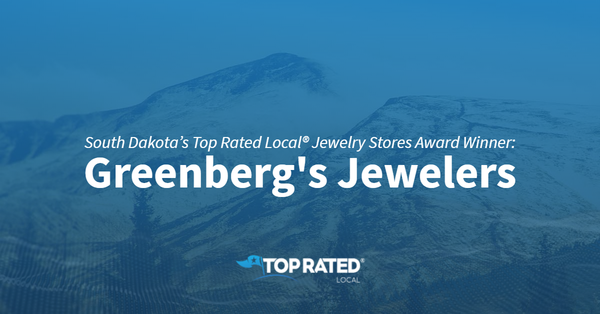 South Dakota's Top Rated Local® Jewelry Stores Award Winner: Greenberg's Jewelers