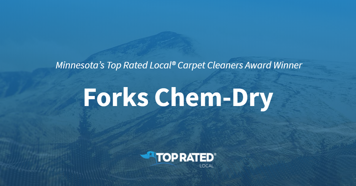 Minnesota's Top Rated Local® Carpet Cleaners Award Winner: Forks Chem-Dry