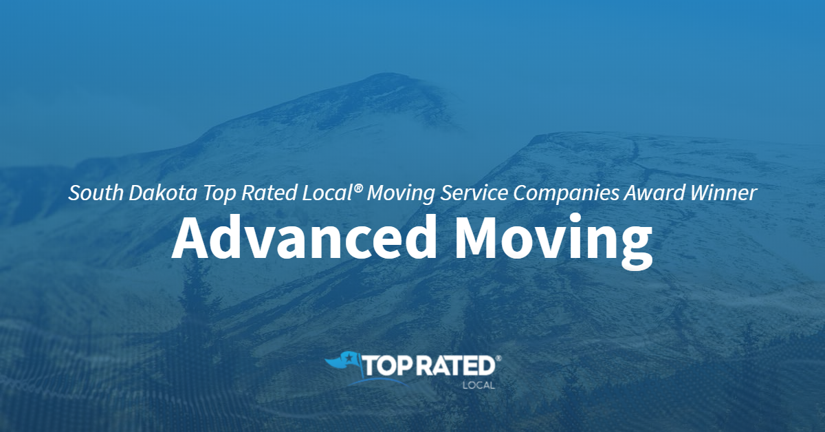 South Dakota Top Rated Local® Moving Service Companies Award Winner: Advanced Moving