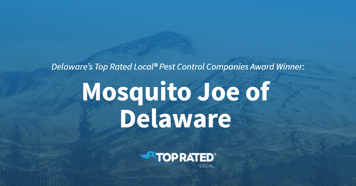 Delaware's Top Rated Local® Pest Control Companies Award Winner: Mosquito Joe of Delaware
