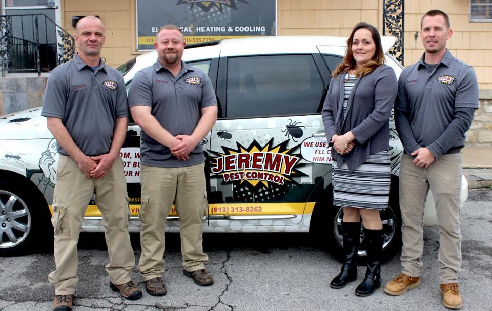 Kansas' Top Rated Local® Pest Control Companies Award Winner: Jeremy Pest Control