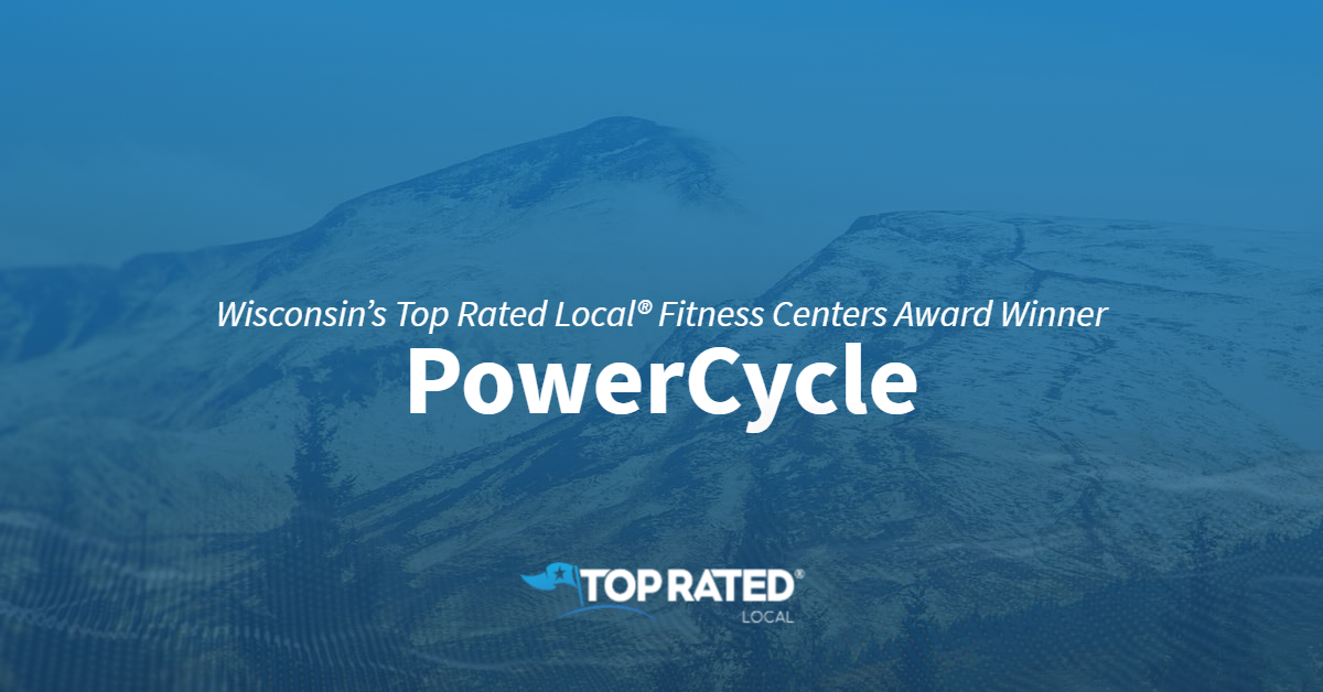 Wisconsin's Top Rated Local® Fitness Centers Award Winner: PowerCycle