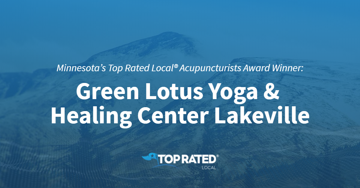 Minnesota's Top Rated Local® Acupuncturists Award Winner: Green Lotus Yoga & Healing Center Lakeville