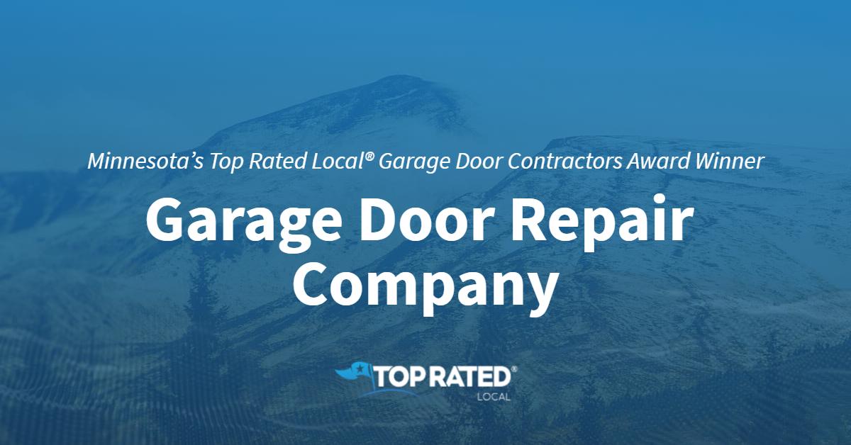 Minnesota's Top Rated Local® Garage Door Contractors Award Winner: Garage Door Repair Company