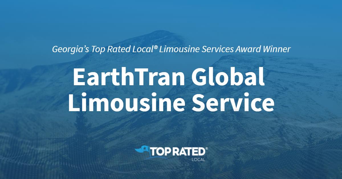 Georgia's Top Rated Local® Limousine Services Award Winner: EarthTran Global Limousine Service