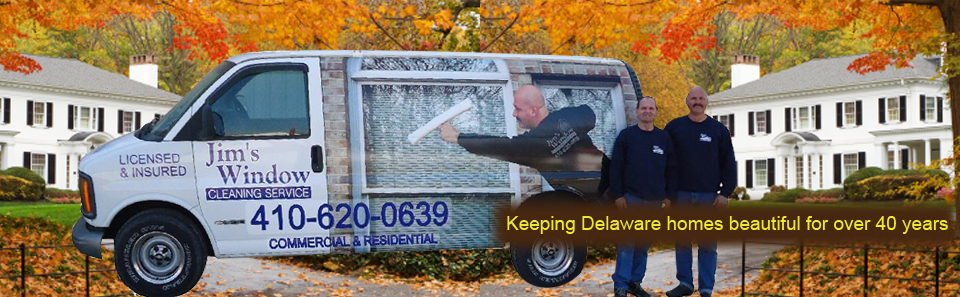 Delaware's Top Rated Local® Window Cleaners Award Winner: Jims Window Cleaning