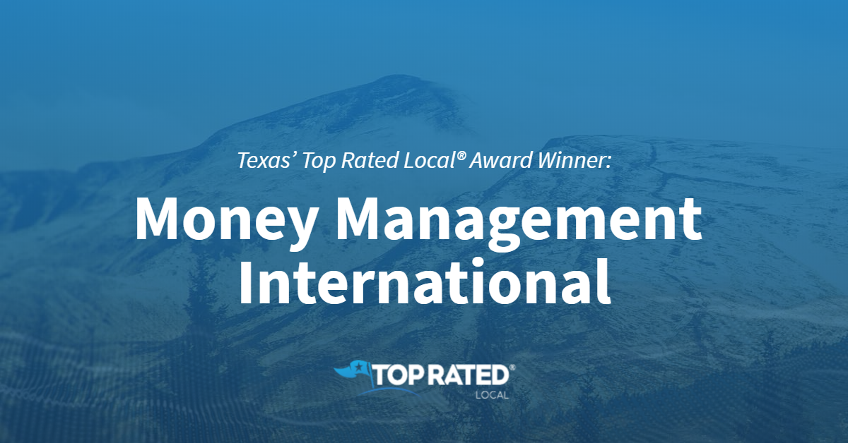 Texas' Top Rated Local® Award Winner: Money Management International