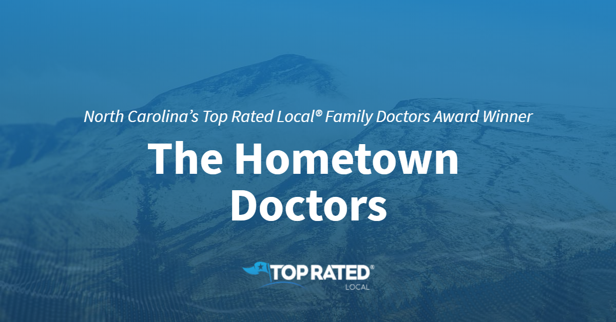 North Carolina's Top Rated Local® Family Doctors Award Winner: The Hometown Doctors