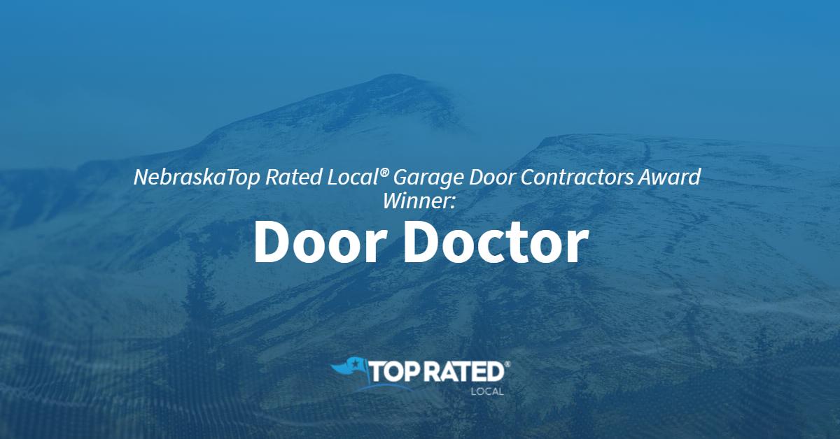 NebraskaTop Rated Local® Garage Door Contractors Award Winner: Door Doctor