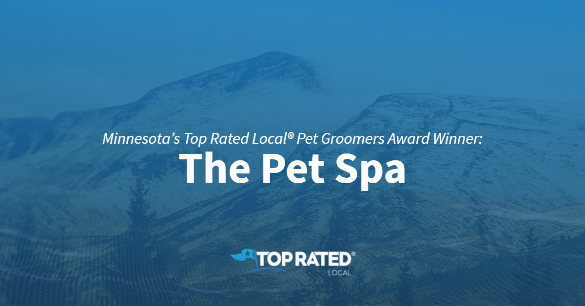 Minnesota's Top Rated Local® Pet Groomers Award Winner: The Pet Spa
