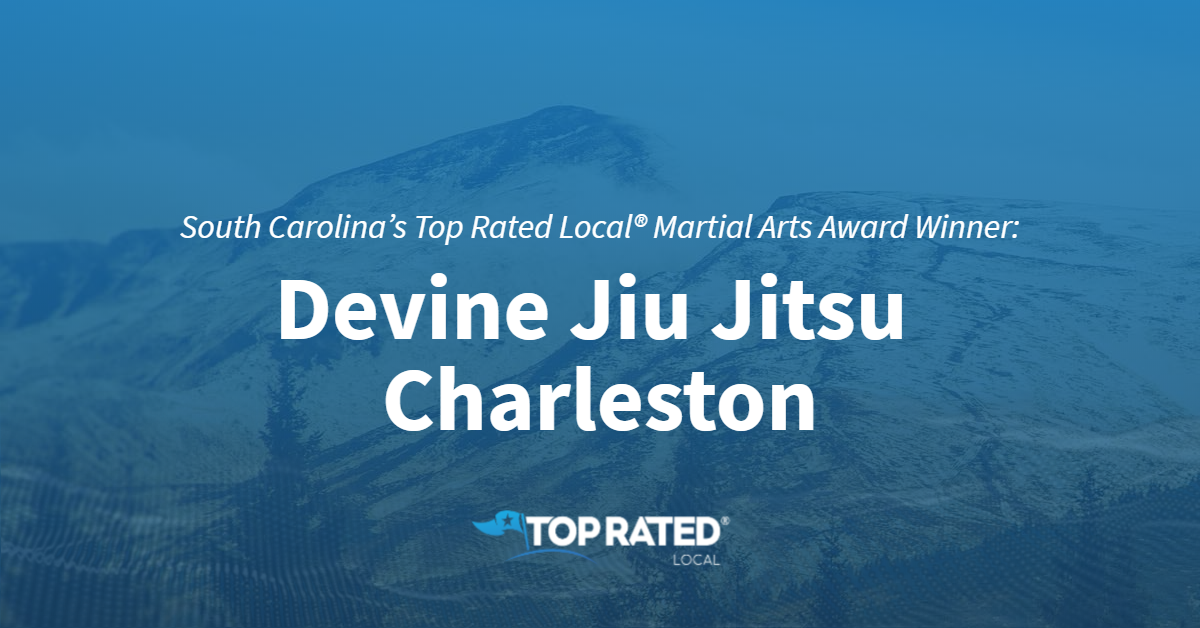 South Carolina's Top Rated Local® Martial Arts Award Winner: Devine Jiu Jitsu Charleston