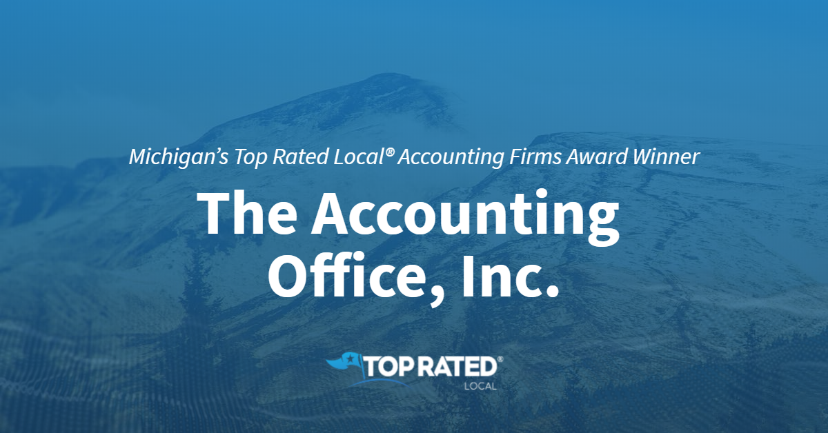 Michigan's Top Rated Local® Accounting Firms Award Winner: The Accounting Office, Inc.
