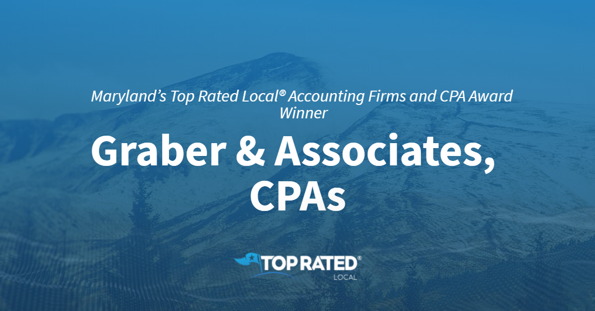 Maryland's Top Rated Local® Accounting Firms and CPA Award Winner: Graber & Associates, CPAs