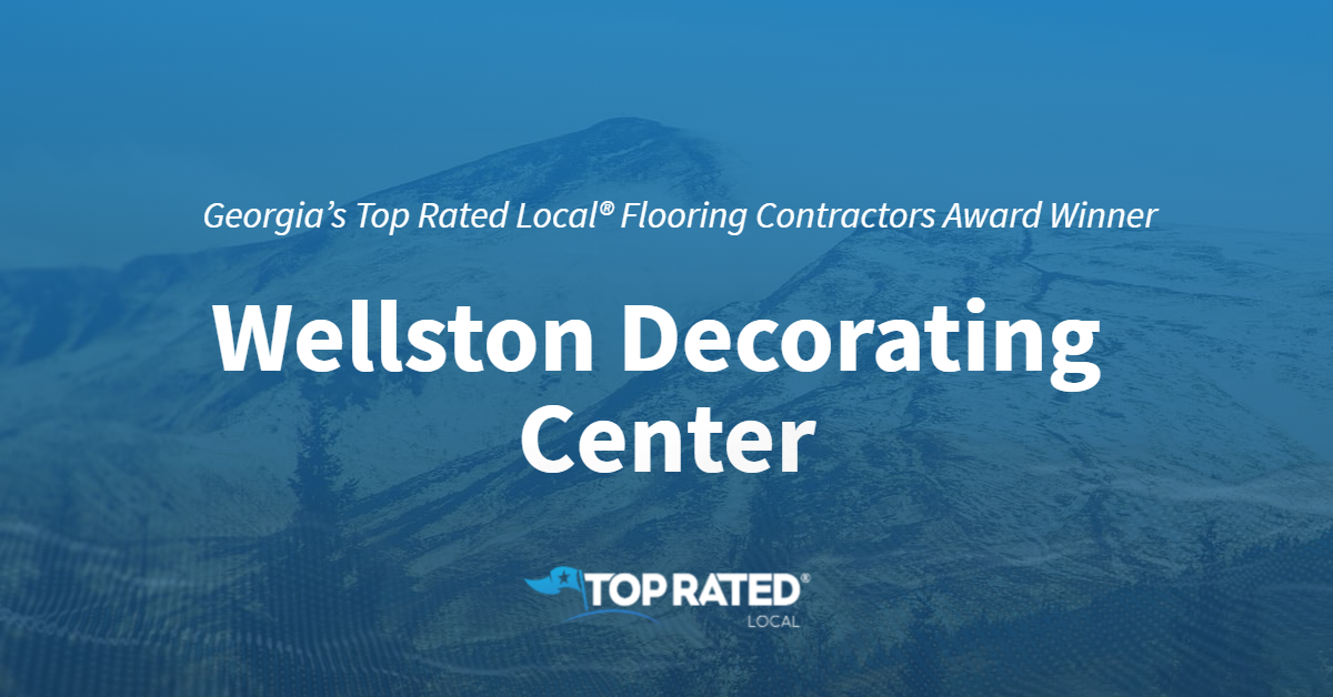 Georgia's Top Rated Local® Flooring Contractors Award Winner: Wellston Decorating Center