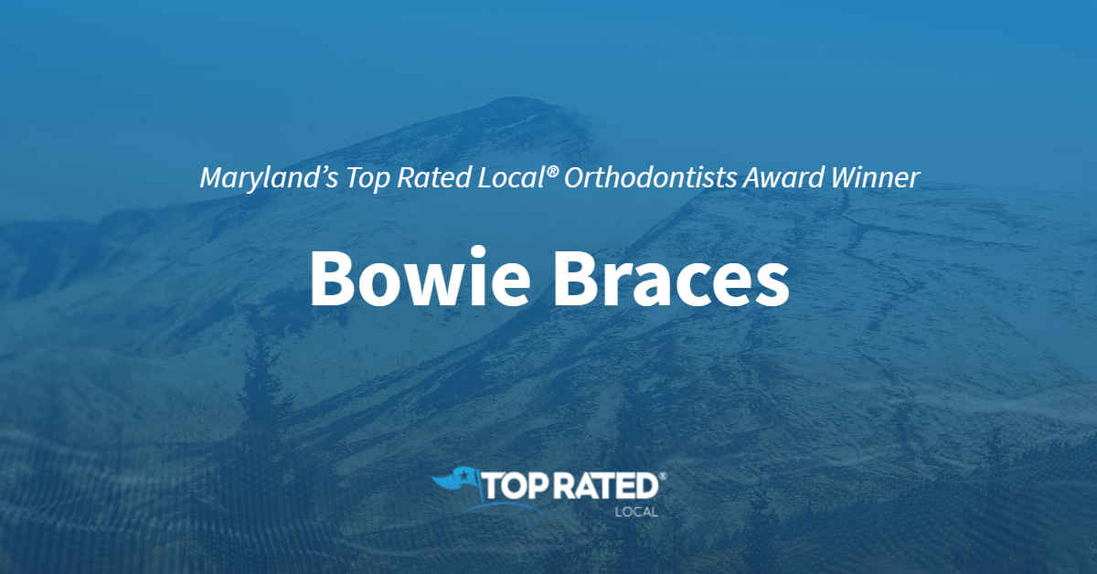 Maryland's Top Rated Local® Orthodontists Award Winner: Bowie Braces