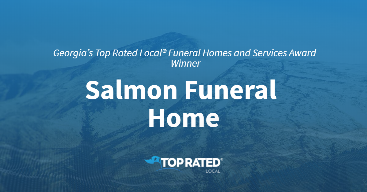 Georgia's Top Rated Local® Funeral Homes and Services Award Winner: Salmon Funeral Home