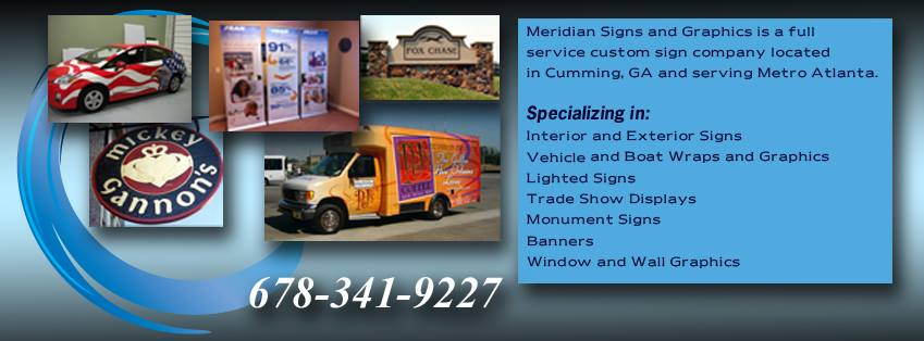 Georgia's Top Rated Local® Sign Companies Award Winner: Meridian Signs And Graphics