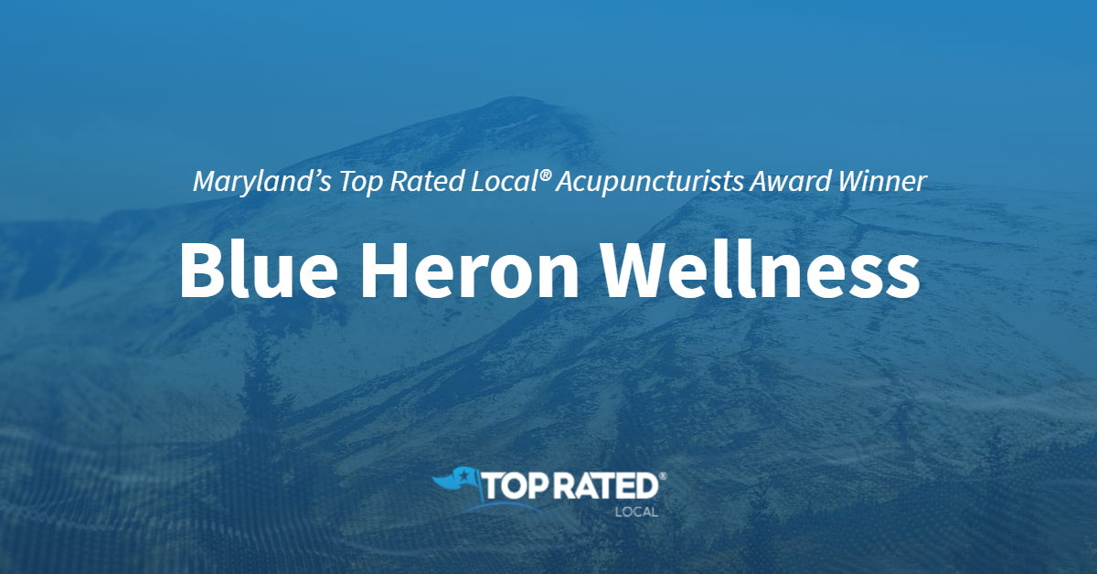 Maryland's Top Rated Local® Acupuncturists Award Winner: Blue Heron Wellness