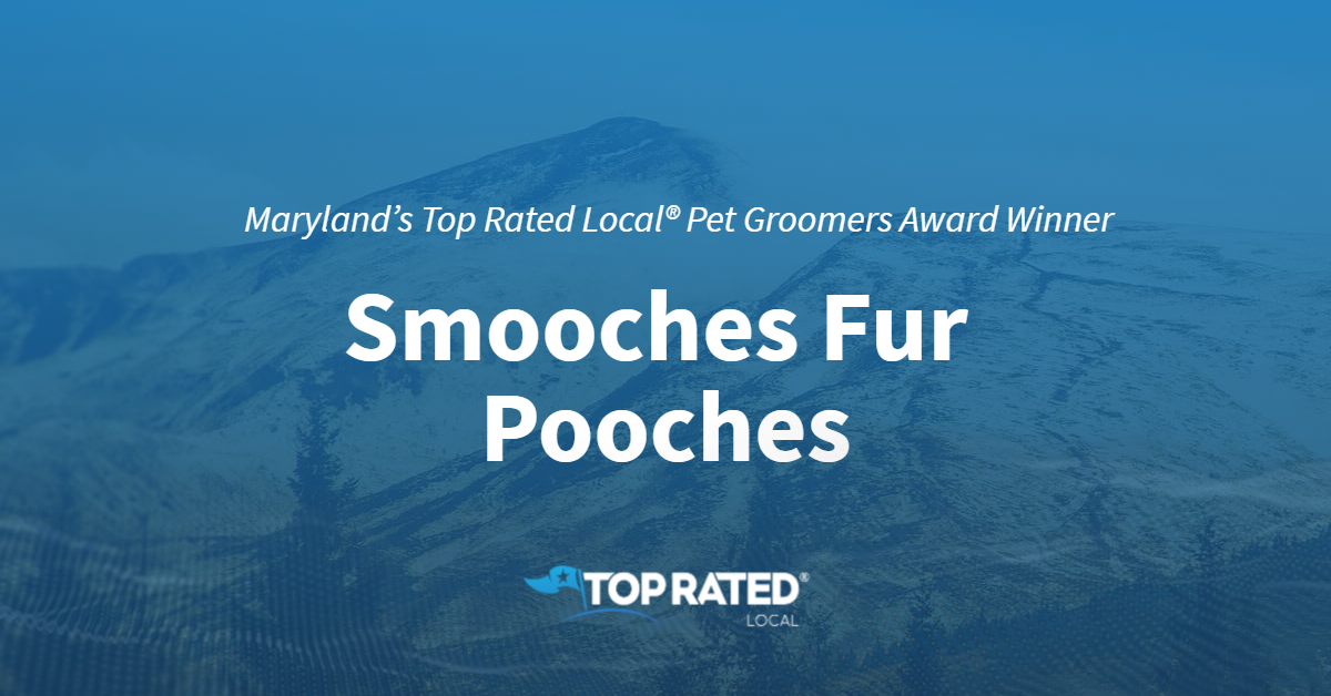 Maryland's Top Rated Local® Pet Groomers Award Winner: Smooches Fur Pooches