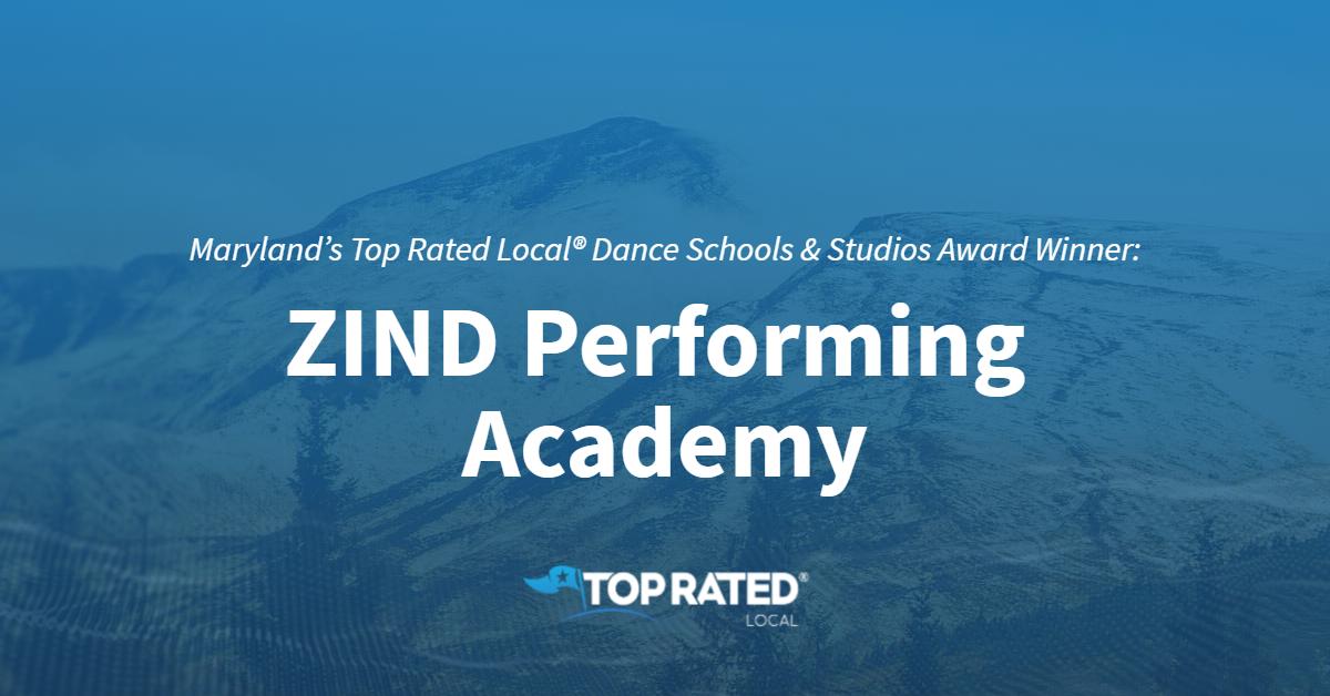 Maryland's Top Rated Local® Dance Schools & Studios Award Winner: ZIND Performing Academy