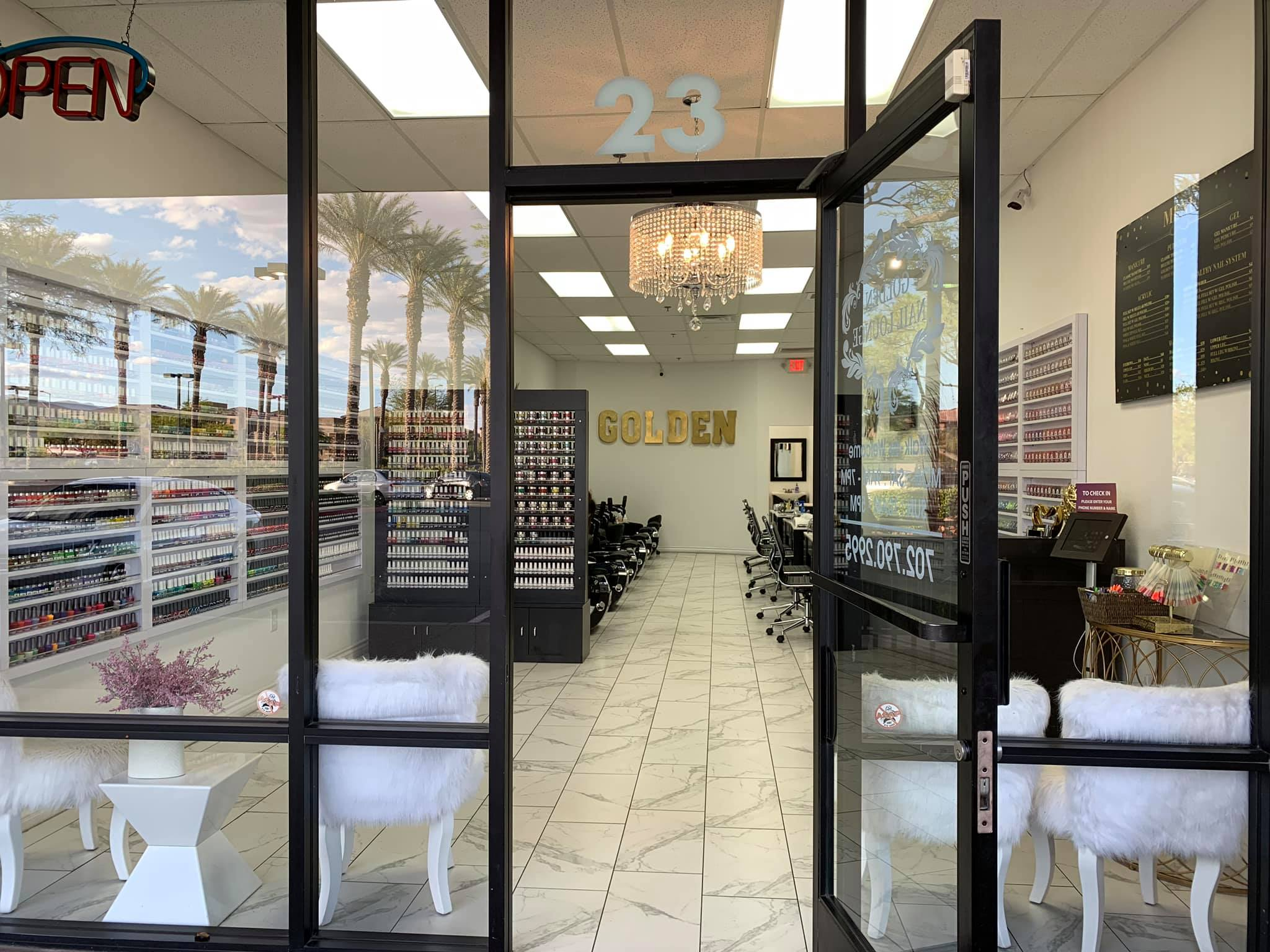 Nevada's Top Rated Local® Nail Salons Award Winner: Golden Nail Lounge