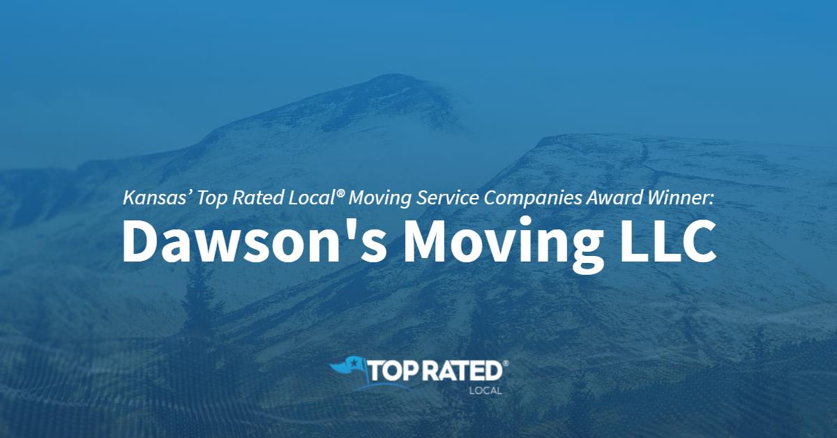 Kansas' Top Rated Local® Moving Service Companies Award Winner: Dawson's Moving LLC