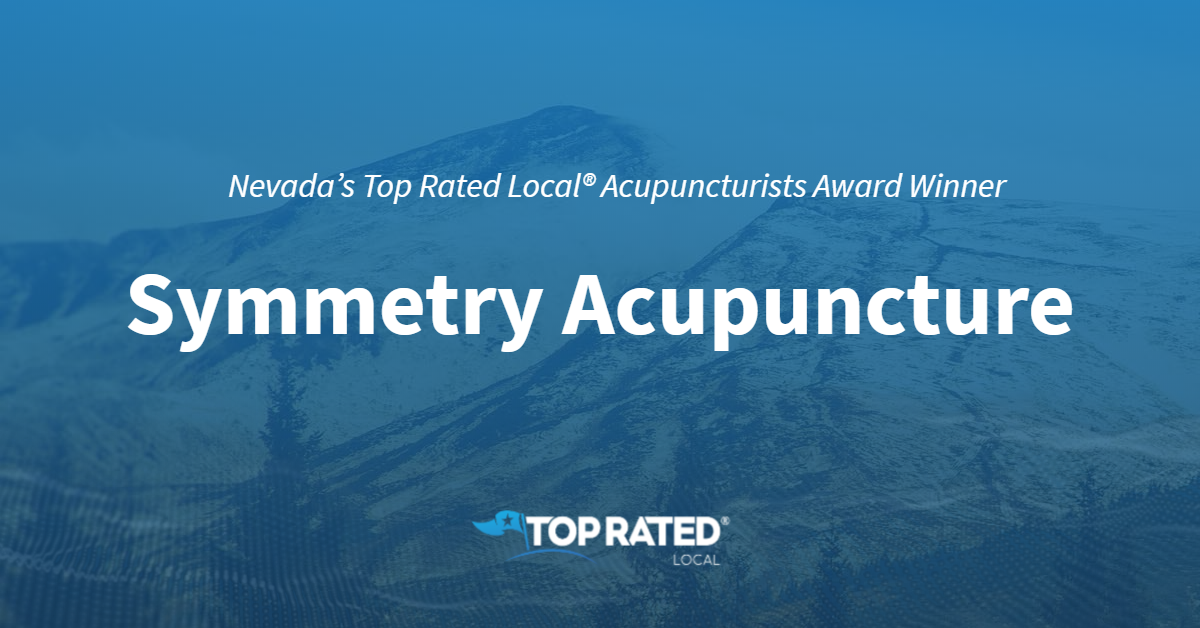 Nevada's Top Rated Local® Acupuncturists Award Winner: Symmetry Acupuncture