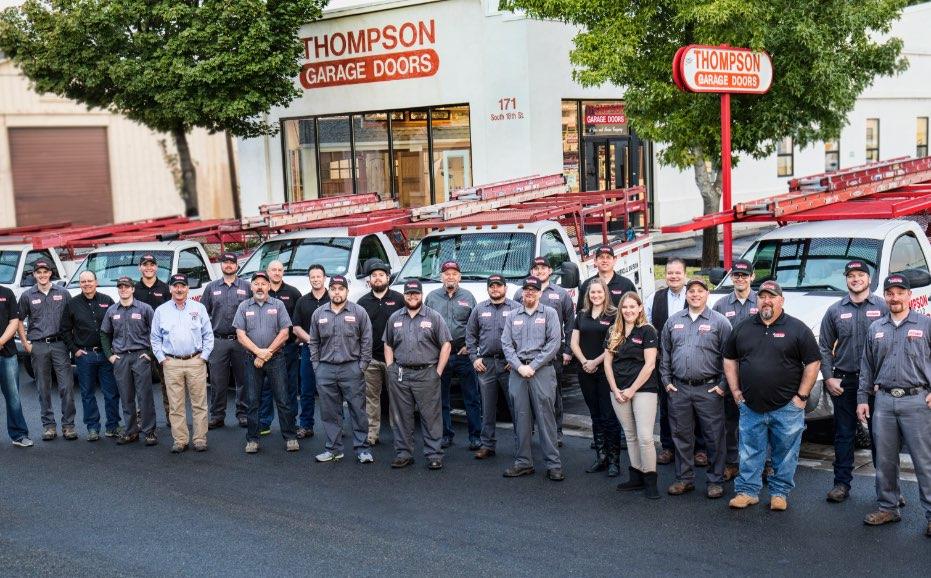 Nevada's Top Rated Local® Garage Door Contractors Award Winner: Thompson Garage Doors