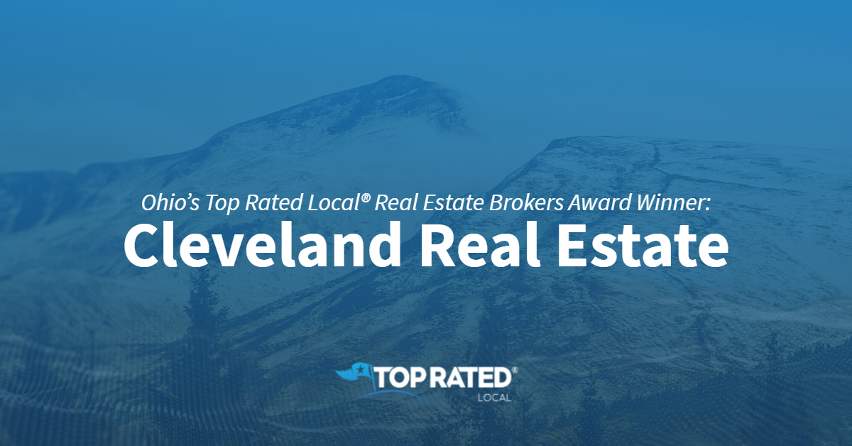 Ohio's Top Rated Local® Real Estate Brokers Award Winner: Cleveland Real Estate
