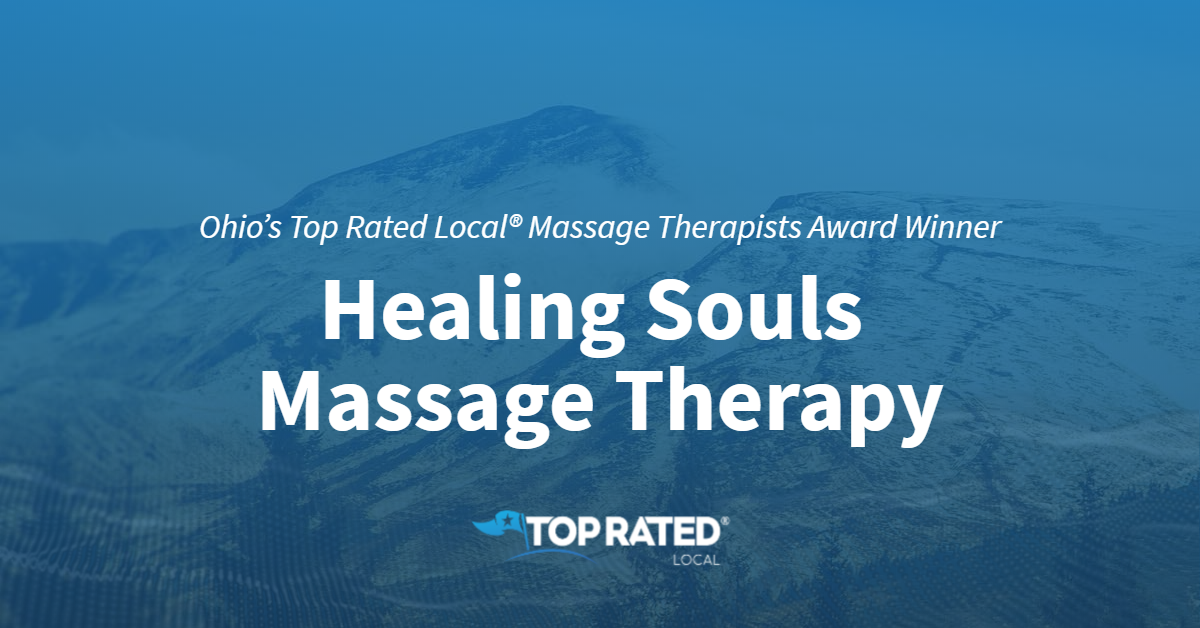 Ohio's Top Rated Local® Massage Therapists Award Winner: Healing Souls Massage Therapy