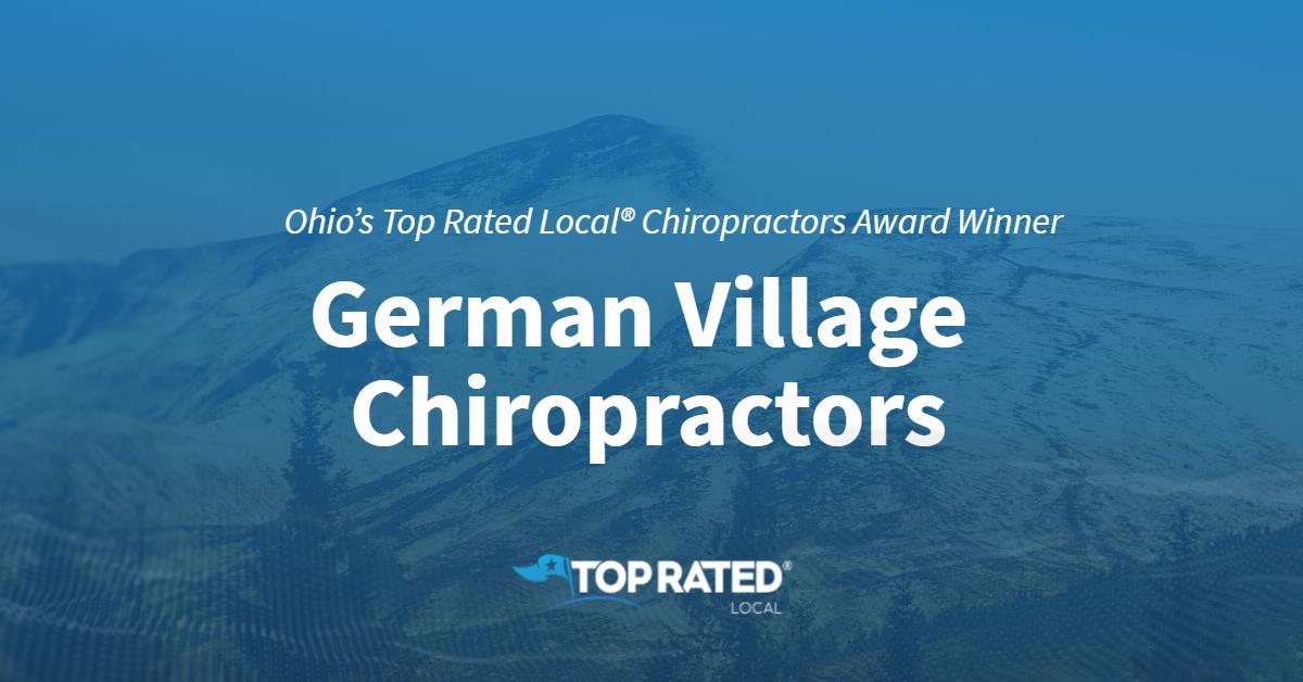 Ohio's Top Rated Local® Chiropractors Award Winner: German Village Chiropractors