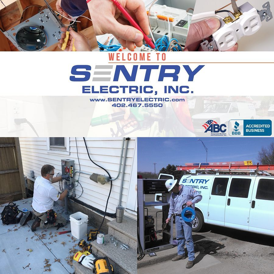 Nebraska's Top Rated Local® Electricians Award Winner: Sentry Electric Inc.