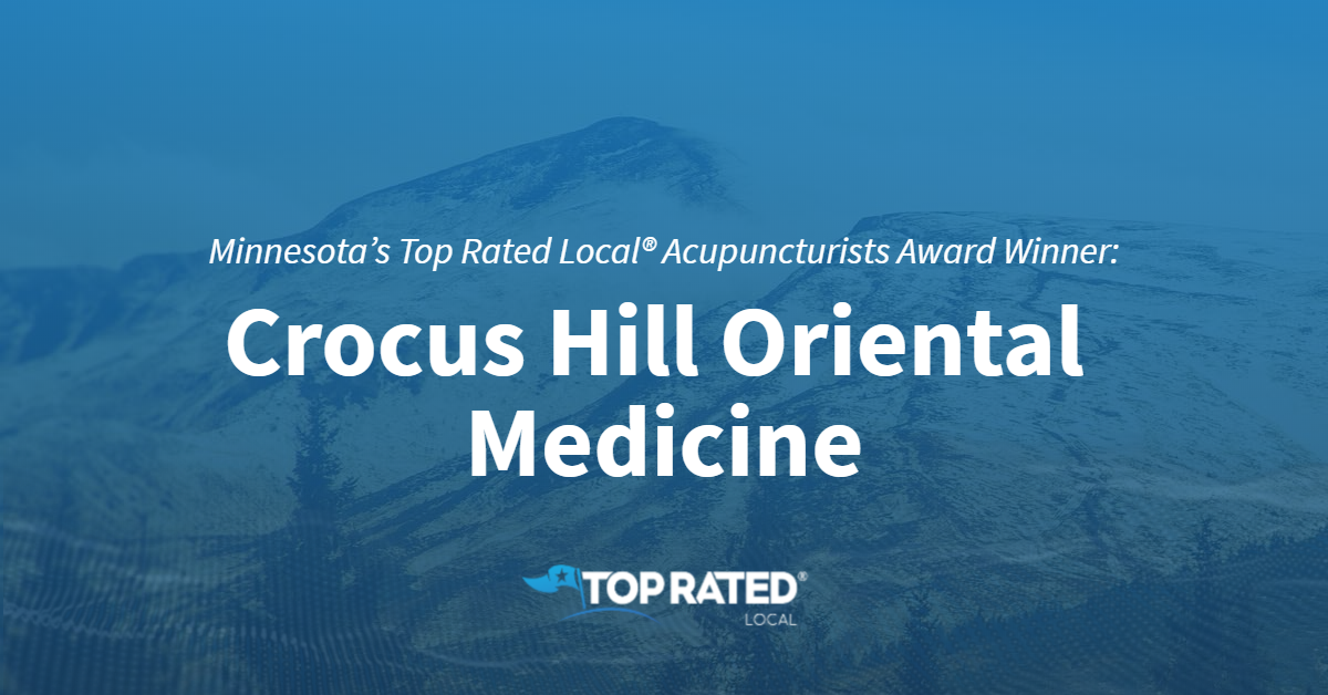 Minnesota's Top Rated Local® Acupuncturists Award Winner: Crocus Hill Oriental Medicine