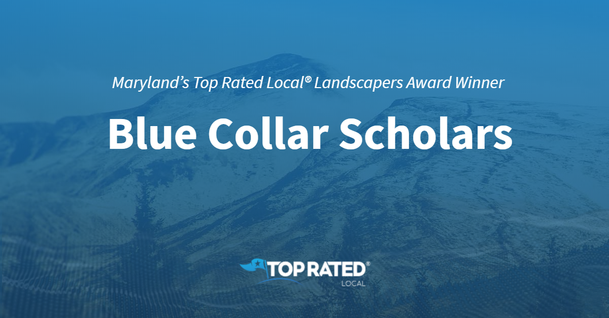 Maryland's Top Rated Local® Landscapers Award Winner: Blue Collar Scholars
