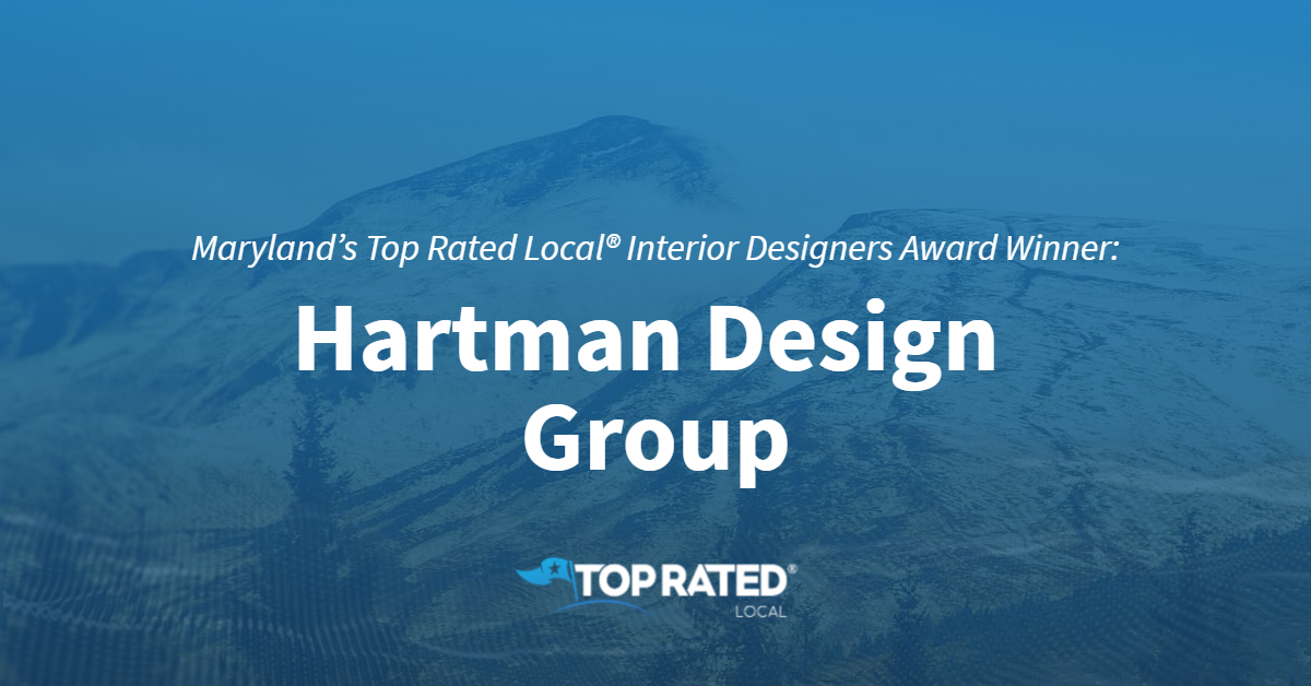 Maryland's Top Rated Local® Interior Designers Award Winner: Hartman Design Group