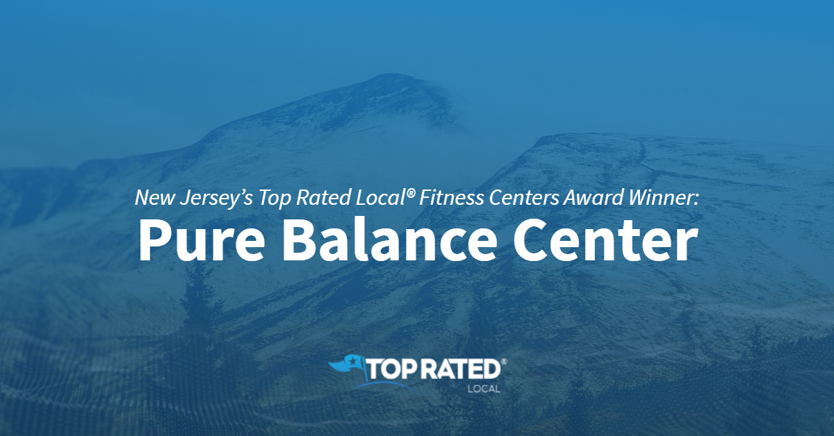 New Jersey's Top Rated Local® Fitness Centers Award Winner: Pure Balance Center