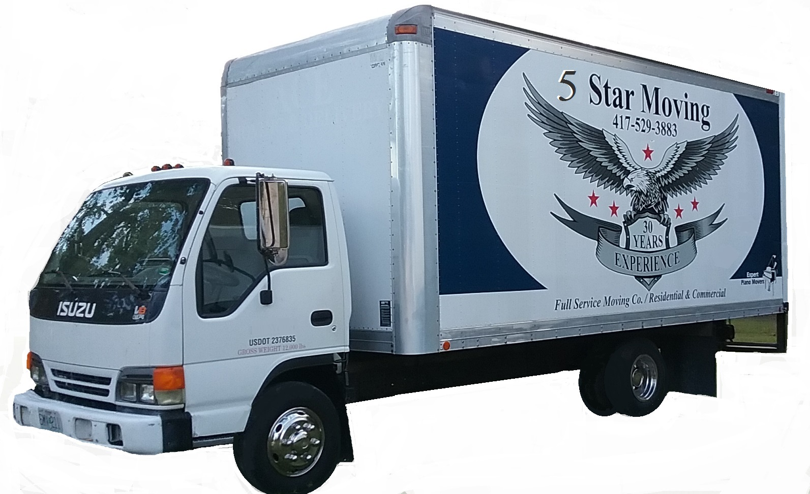 Missouri's Top Rated Local® Moving Service Companies Award Winner: 5 Star Moving