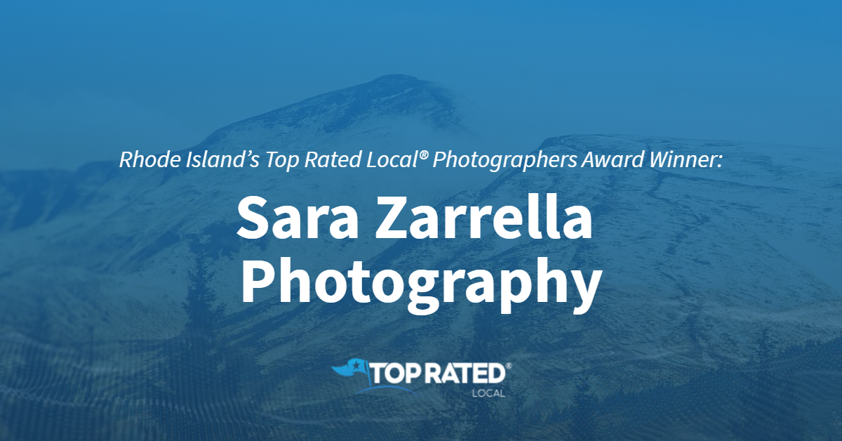 Rhode Island's Top Rated Local® Photographers Award Winner: Sara Zarrella Photography
