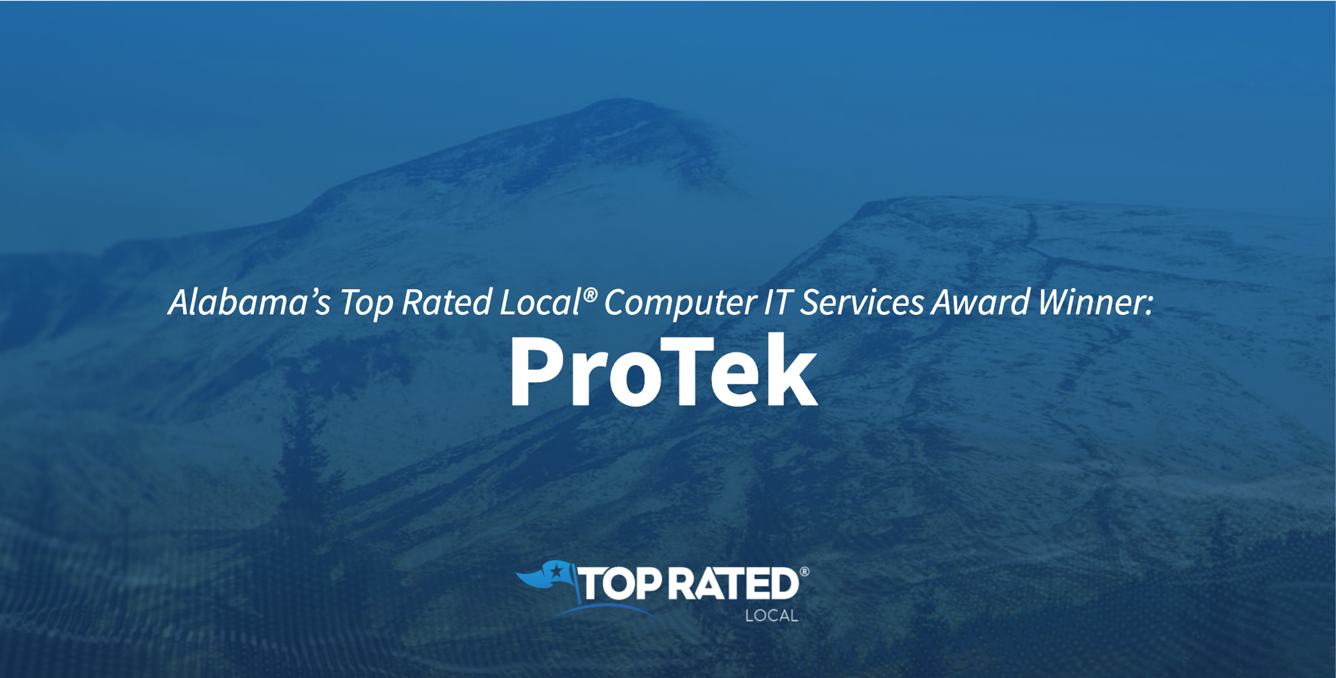 Alabama's Top Rated Local® Computer IT Services Award Winner: ProTek
